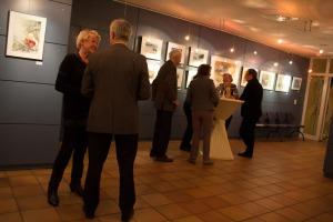 Besucher der Ausstellung von Hanka u Frank Koebsch im Graal Müritz (c) Frank Koebsch (2)