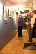 Besucher der Ausstellung von Hanka u Frank Koebsch im Graal Müritz (c) Frank Koebsch (3)