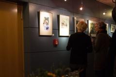 Besucher der Ausstellung von Hanka u Frank Koebsch im Graal Müritz (c) Frank Koebsch (4)