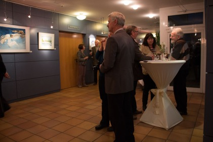 Besucher der Ausstellung von Hanka u Frank Koebsch im Graal Müritz (c) Frank Koebsch (5)