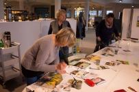Frühlingsblumen – Aquarellworkshop bei Heinr. Hünicke Rostock (c) Frank Koebsch (1)