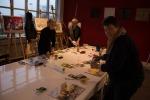 Frühlingsblumen – Aquarellworkshop bei Heinr. Hünicke Rostock (c) Frank Koebsch (4)