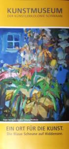 Die Ausstellung in der Kunstmühle Schwaan - Ein Ort für die Kunst - Die blaue Scheune auf Hiddensee