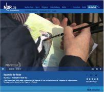 Die NDR Nordtour berichtet in dem Beitrag - Aquarelle der Natur - über die Malerei von Frank Koebsch