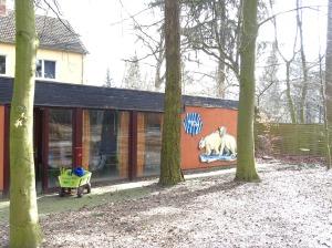 Unser Kursraum zum Malen der Pinguine - die Eisbärenstube (c) Frank Koebsch (1)