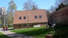 Anlagen des Klosters zum Heiligen Geist an der Rostocker Stadtmauer (c) Frank Koebsch