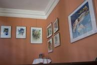 Aquarelle von Hanka & Frank Koebsch zu Kunst Offen im Schloss Griebenow (2)