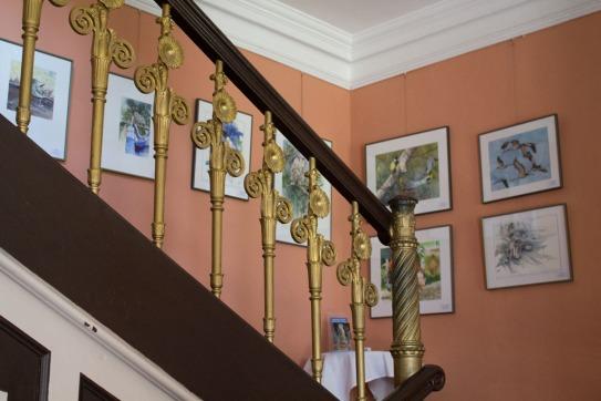 Aquarelle von Hanka & Frank Koebsch zu Kunst Offen im Schloss Griebenow