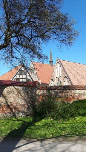 Blick auf das Kloster zum Heiligen Geist in Rostock (c) Frank Koebsch (3)