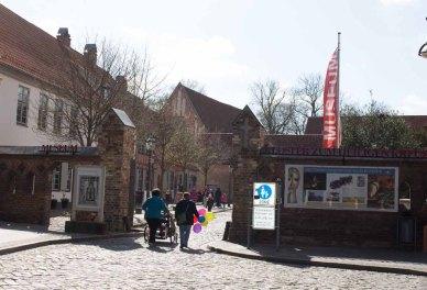 Eingang zum Klosterhof in Rostock (c) Frank Koebsch (2)