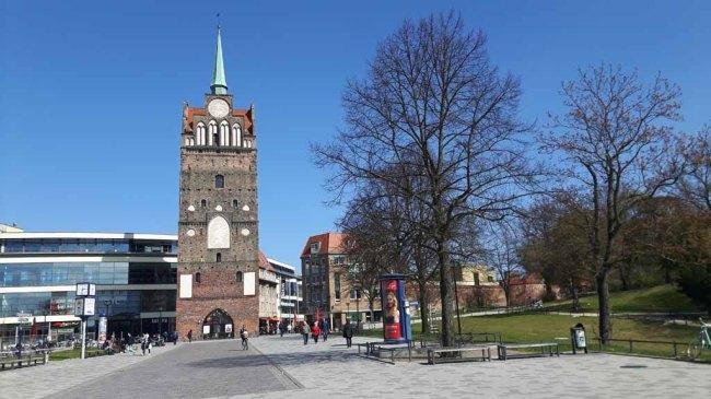 Kröpeliner Tor in Rostock (c) Frank Koebsch
