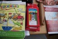 Malen mit den Ostseekindern - Danke für die Unterstützung an Hahnemühle und Heinr. Hünicke (c) Frank Koebch (2)