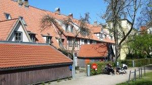 Professorenhäuser - restaurierten Fachwerkhäusern am Klosterhof in Rostock © Frank Koebsch (3)