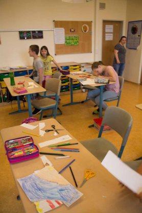 Schnappschüsse vom Malen mit den Ostseekindern (c) Frank Koebsch (1)
