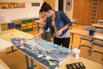 Schnappschüsse vom Malen mit den Ostseekindern (c) Frank Koebsch (7)