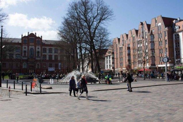 Universitätsplatz Rostock (c) Frank Koebsch