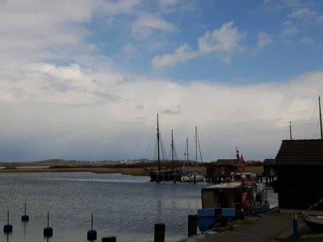 Sonne im Hafen von Gager (c) Frank Koebsch