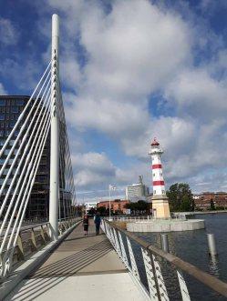 Bummel über die Brücke auf der Universitetsbron in Malmö (c) Frank Koebsch (2)