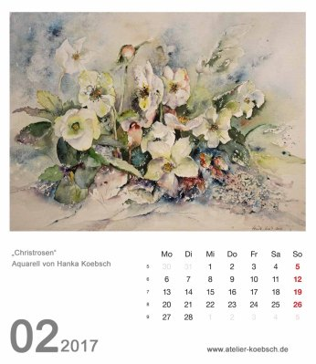 Kalenderblatt Februar 2017