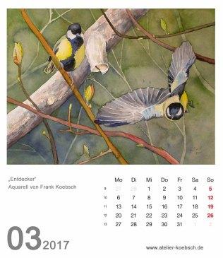 Kalenderblatt März 2017