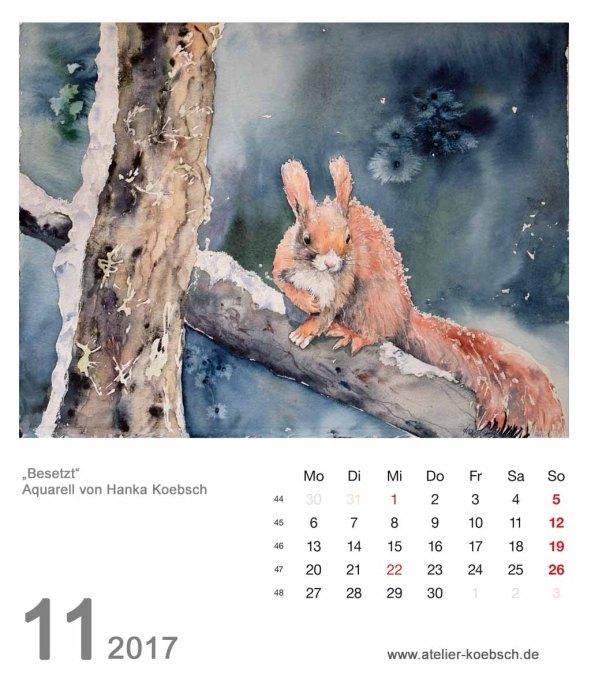 Kalenderblatt November 2017