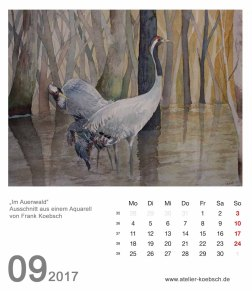 Kalenderblatt September 2017