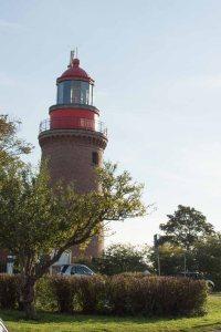 Leuchtturm von Bastorf in der Septembersonne 2015 (c) Frank Koebsch (1)