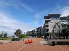 Wohngebiet am Öresund - Barometergatan - VÄSTRA HAMNEN in Malmö (c) Frank Koebsch