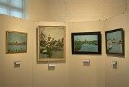 Bilder von Rudolf Bartels aus der Serie – Ansichten von Rostock – im Kulturhistorischen Museum Rostock © Frank Koebsch (2)