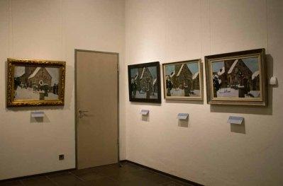 Bilder von Rudolf Bartels aus der Serie – Kirche von Gelmeroda – im Kulturhistorischen Museum Rostock © Frank Koebsch (3)