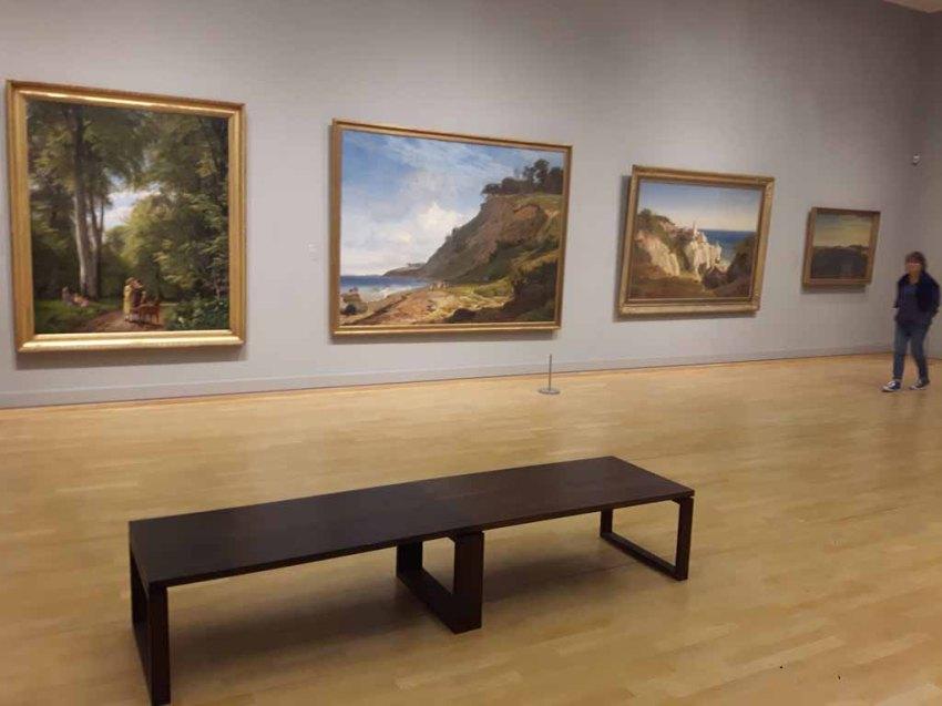Einblick in die dänische Landschaftsmalerei zwischen 1800 - 1850 imSMK (c) FRank Koebsch
