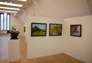 Rudolf Bartels in der ständigen Ausstellung des Kulturhistorischen Museums Rostock (c) Frank Koebsch