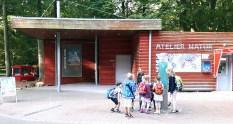 Atelier Natur im Rostocker Zoo - Ort der aktuellen Ausstellung unserer Aquarelle (c) FRank Koebsch