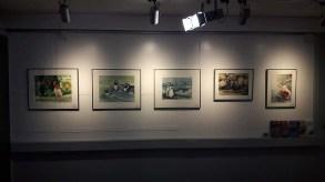 Einblick in unsere Ausstellung - Beobachtungen in der Natur und im Rostocker Zoo (c) FRank Koebsch