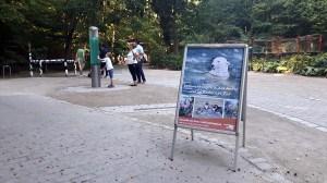 Plakat fur unsere Ausstellung -Beobachtungen in der Natur und im Rostocker Zoo (c) Frank Koebsch