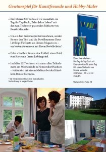 Gewinnspiel für Kunstfreunde und Hobbykünstler im Herbstprogram des Präsenz Verlages