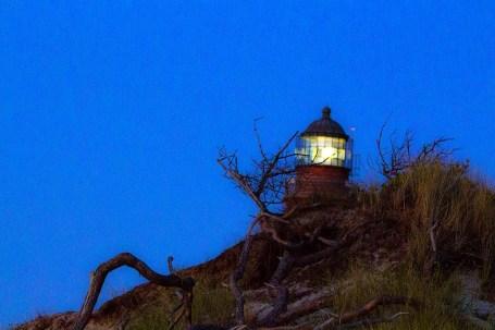 Leuchtturm Farßer Ort am Abend (c) Frank Koebsch (1)