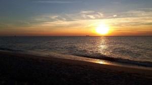 Sonnenuntergang am Darßer Ort (c) Frank Koebsch