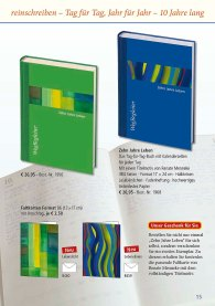 Tag-für-Tag-Buch - Zehn Jahre Leben - des Präsenzverlages (2).