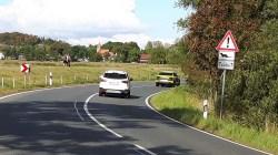 Verkehrsschild Otterwechsel bei Middelhagen auf dem Mönchgut (c) FRank Koebsch (2)