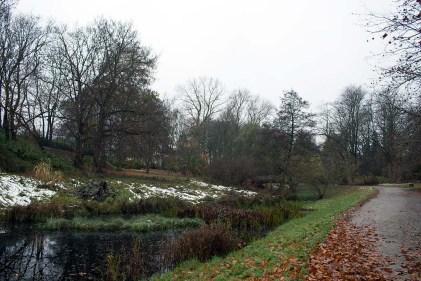Herbstliche Landschaftsmotive im Botanischen Garten Rostock (c) Frank Koebsch