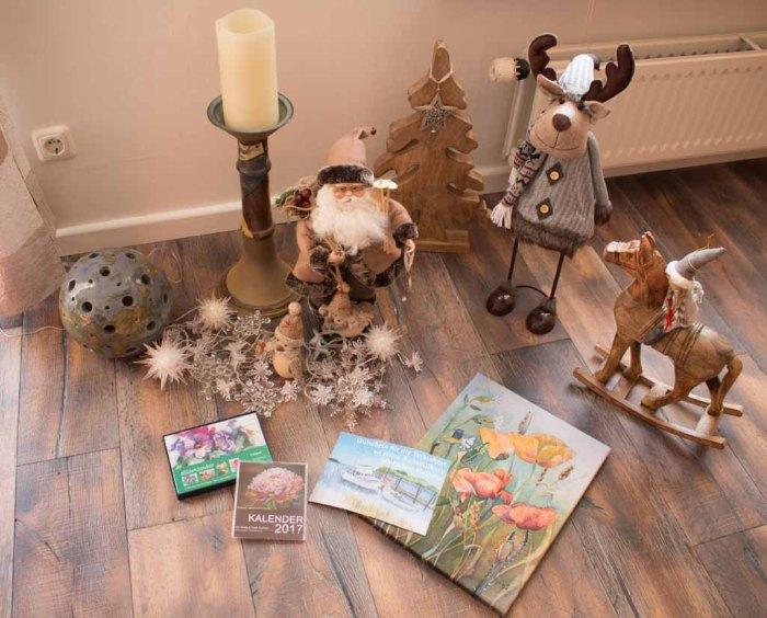 Ideen für Weihnachtsgeschenke Kunstkarten, Kalender, Gutscheine, Drucke und Aquarelle © Frank Koebsch
