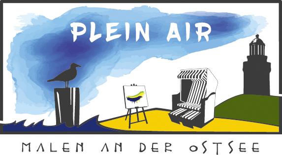 Logo - Plein Air Festival - Malen an der Ostsee