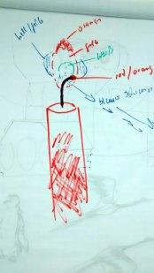 Wie malt man eine Kerze (c) Frank Koebsch