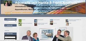 Unsere Web Seite www.atelier-koebsch.de