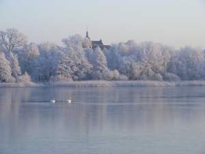 Winter am Lüsewitzer See (c) FRank Koebsch