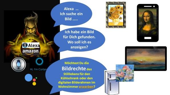 Alexa ich suche ein Bild und die Frage nach den Bildrechten (c) Frank Koebsch