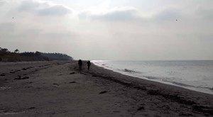 Strandspaziergang am Darßer Ort (c) Frank Koebsch