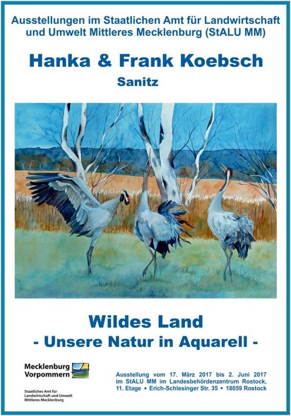 Ausstellung Wildes Land von Hanka u Frank Koebsch im StALU MM 2017 03