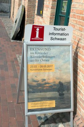 aktuelle Ausstellung in der Kunstmühle Schwaan (c) FRank Koebsch